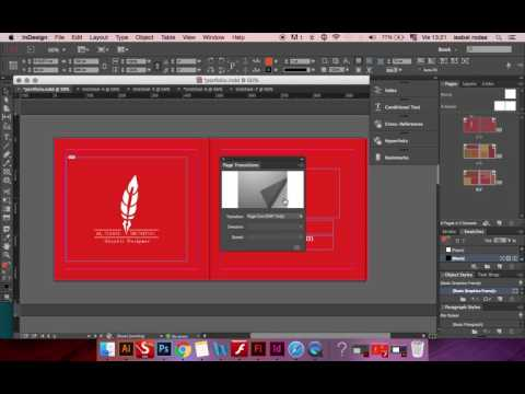 Tutorial Flip Page for Web design  (Wix)