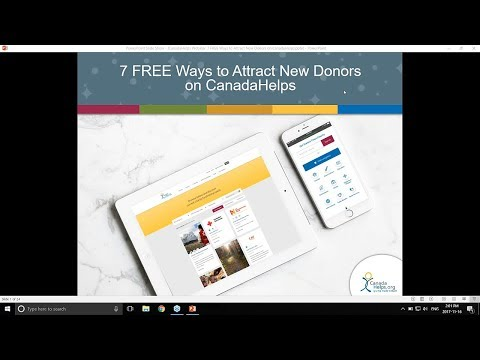 7 Free Ways to Attract Donors on CanadaHelps