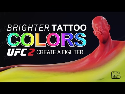 Brighter COLOR Shape Tattoos, Create a Fighter Quick Tip, EA Sports UFC 2