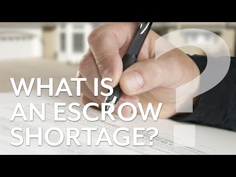 What is an Escrow Shortage? Why Does it Happen?