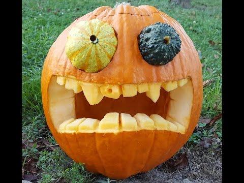 HOW TO CARVE A PUMPKIN - halloween jack o lantern tutorial