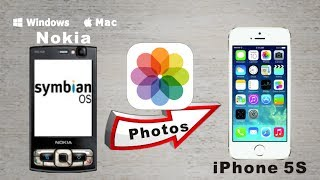 Nokia To Iphone 5s Photos Transfer Copy All Photospictures From Nokia