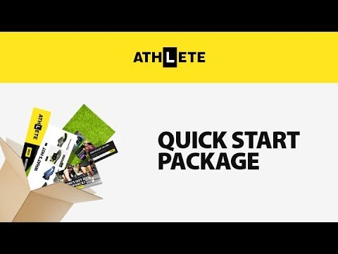 Athlete Magento Theme Installation - Quick Start Package