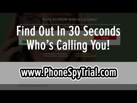 How To Trace A Cell Phone Number - Easy Reverse Phone Lookup