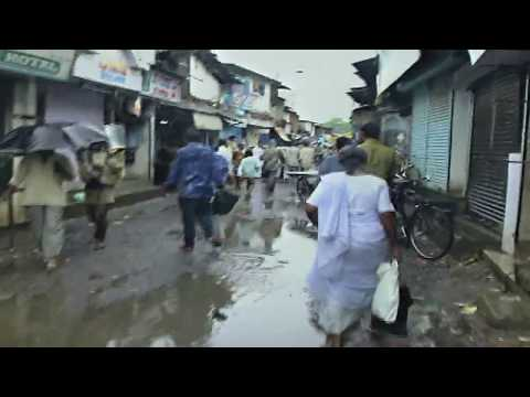 Streets of Dharavi, Bombay - largest slum in Asia