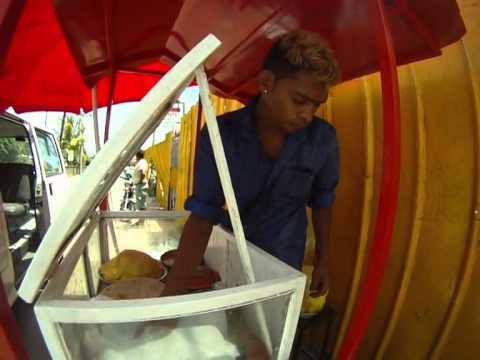 Dholl Puri in Mauritius