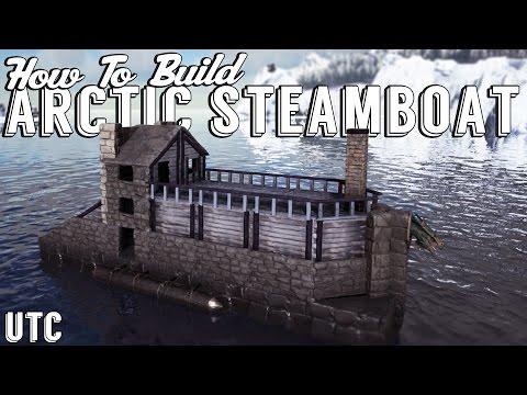 Ark Building Tutorial :: The Arctic Steamboat :: Ark Raft Design + Boat Build Guide :: UTC