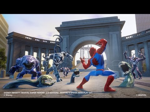Disney Infinity 2.0 Spider MaN PC 60FPS Gameplay #2 | 1080p