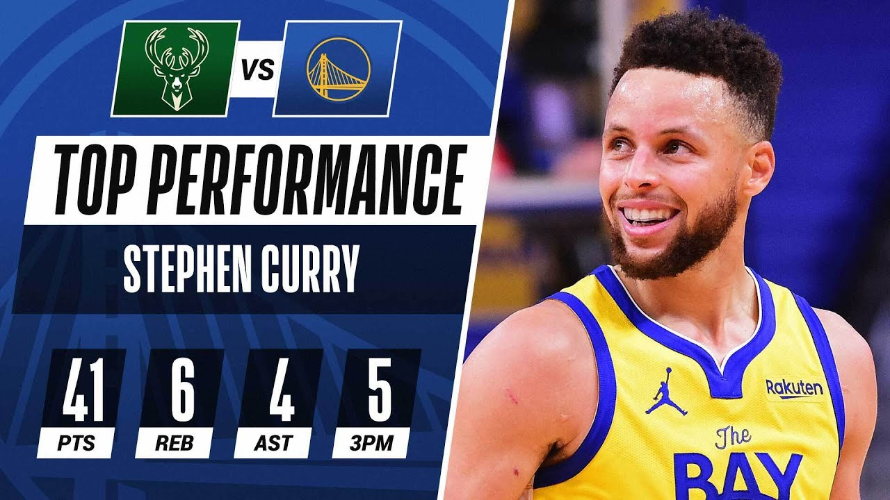 Steph Curry Puts Up 41 PTS In Home THRILLER! 💥