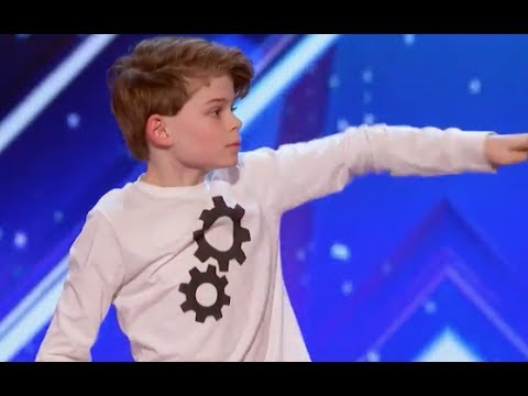 12 Y.O Boy Tells His Story Through AMAZING Moves | Week 1 | America's Got Talent 2017
