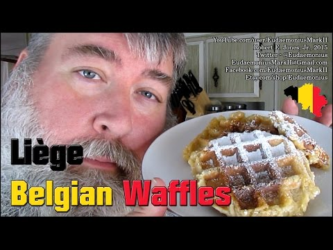 How To Make REAL BELGIAN WAFFLES - Day 16,723