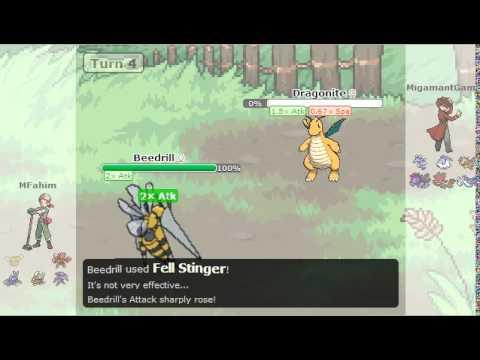 Mega Beedrill Sweeps 6 Pokemon - Monotype Bug VS Dragon