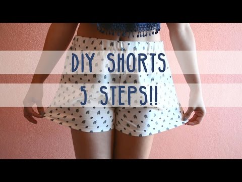 5 Steps DIY Shorts!