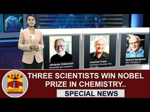 Special News : Three Scientists Win Nobel Prize in Chemistry | Thanthi TV
