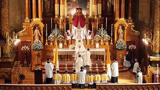 Traditional Catholic Latin Mass of the Angels (Mass VIII, the Missa de Angelis)