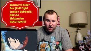 Sasuke vs Killer Bee (Full Fight English Subbed) | Naruto Shippuden REACTION!!!!