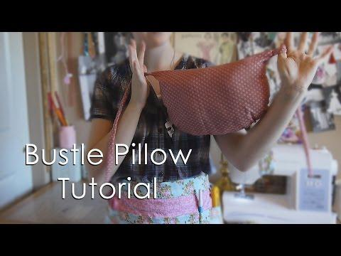 Bustle Pillow Tutorial | Tiana Olivia Costuming