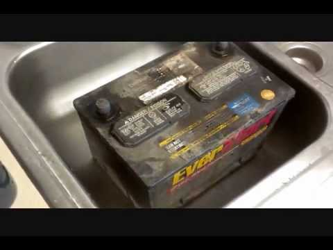 BEST and most efficient way to clean a 12v car battery