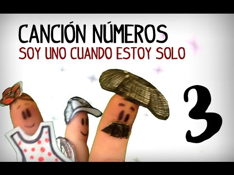 Spanish numbers song, counting 1 to 10