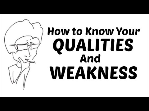 [Hindi - हिन्दी] How to Know Your Qualities and Weakness - Tell me About Your Strengths and Weakness