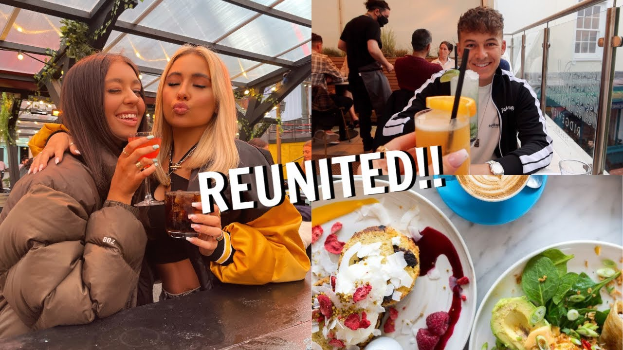 Reuniting with my BESTFRIEND!! Our first date + chopping my hair!