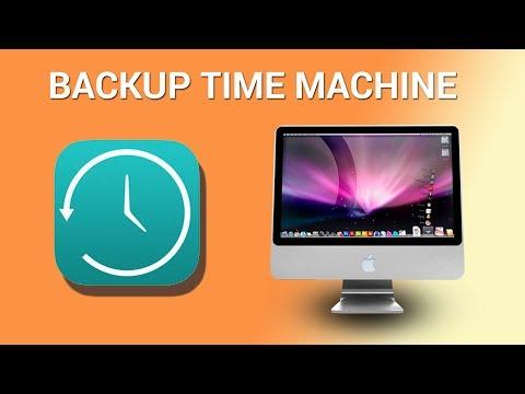 How to backup Mac via Time Machine