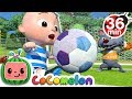 The Soccer Football Song More Nursery Rhymes Kids Songs CoCoMelon