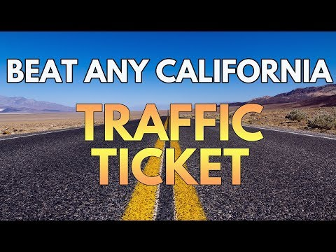 Beat California Traffic Tickets | Save Time, Money, and Avoid Points