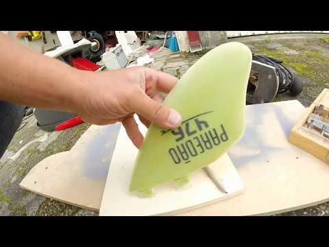 How to make Surfboard Fins in home.