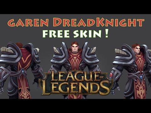 Garen Darkknight free skin ! - League of legends lol 2016