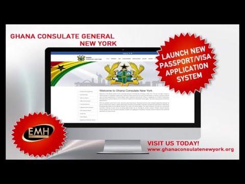 Ghana Consulate General New York Online Visa And Passport Application
