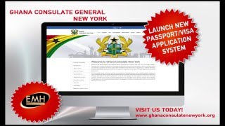 Ghana Consulate General New York Online Visa And Passport Application