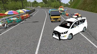 Bussid #CarDriving Bus simulator indonesia game in Toyota vios car
