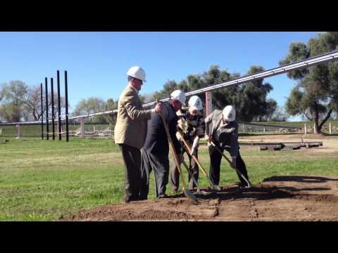 Soccer stadium construction begins