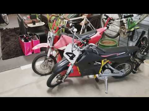 How To Paint Your Plastic Fenders On Razor Electric Dirt bike MX650 MX500