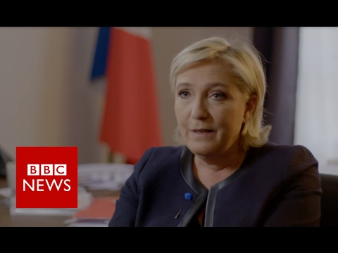 Marine Le Pen on Brexit and the EU - BBC News