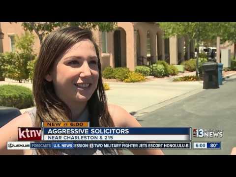 Aggressive solicitors target Summerlin neighborhood