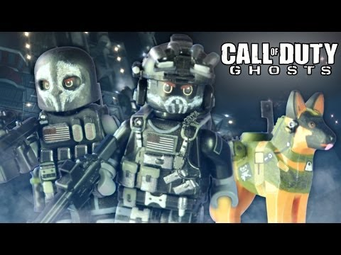 LEGO Call of Duty Ghosts : Keegan, Logan, & Riley - Showcase