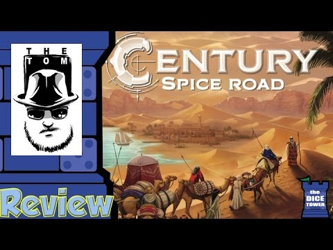 Century: Spice Road Review - with Tom Vasel