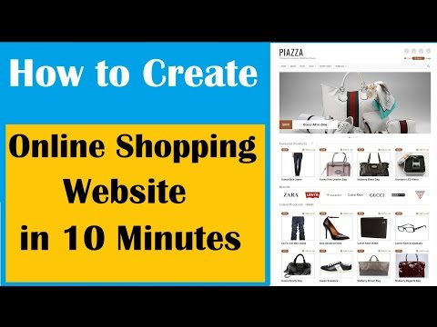 Free | How to start Ecommerce online shopping website Business with Free Template | EarningBaba