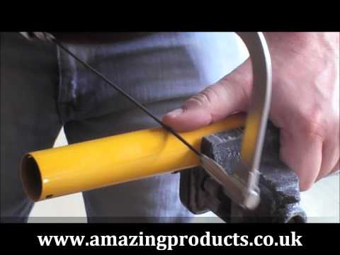 Tungsten Rodsaw Hacksaw blade cutting steel and more!