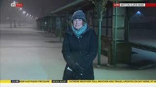 Beast from the East - Sky News at 10 - 1.3.2018