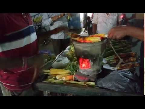 Kolkata Street Food of Kolkata | Roasted Corn | Grilled Corn | Famous Food
