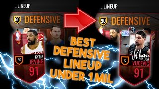 best lineup in nba live mobile