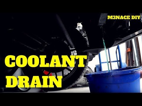 E36 Coolant Drain