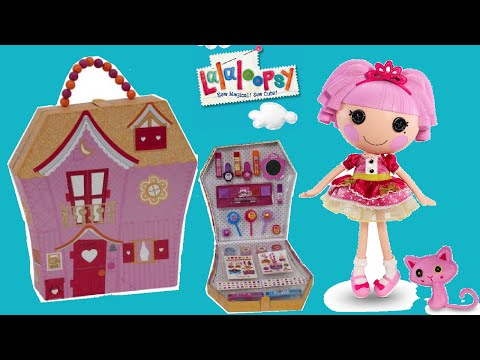 Lalaloopsy Carry Along Cosmetic Makeup Case for Kids Unboxing!!!