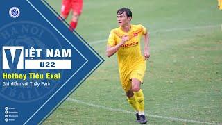 U22 Việt Nam tập trung - Cầu thủ Việt kiều Tiêu Exal ghi điểm với Thầy Park Hang Seo