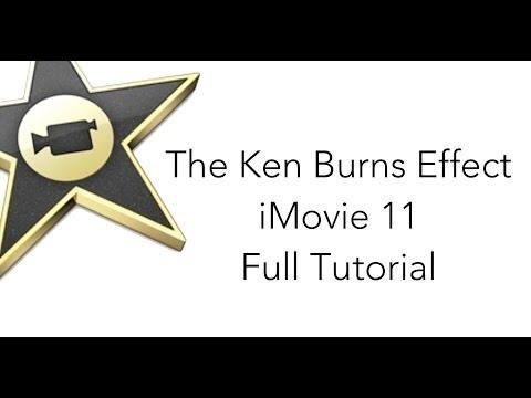 The Ken Burns Effect in iMovie 11
