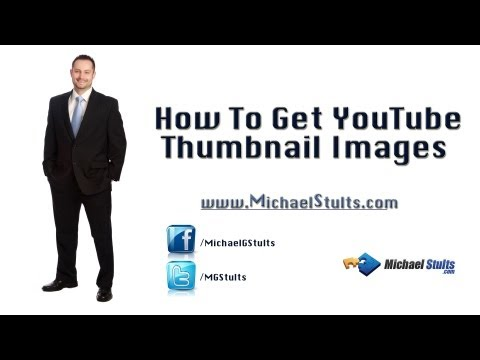 How To Get YouTube Thumbnail Images