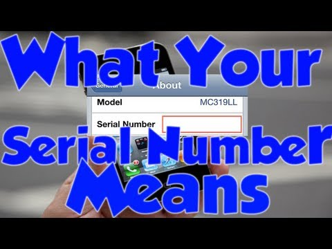 Here is What Your iPhone's Serial Number Means